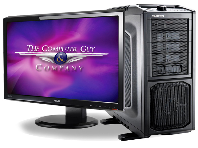 custom built gaming computer